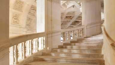 01 Double Helix Staircase by Leonardo DaVinci